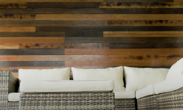 Create A Feature Wall With This Cladding Technique