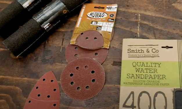 There's More To Sandpaper Than Just Different Grits