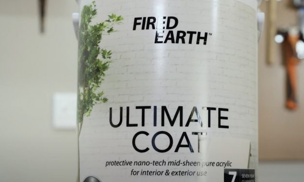 Fired Earth Ultimate Coat Double Coverage