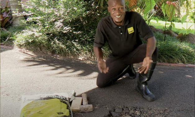Fix Potholes Yourself With Cold Tar Mix