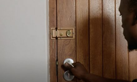 How To Replace A Door Lock & Add A Slam Lock Latch
