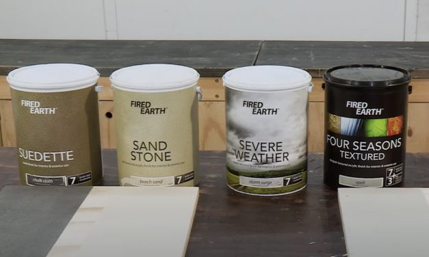 Fired Earth Textured Paints