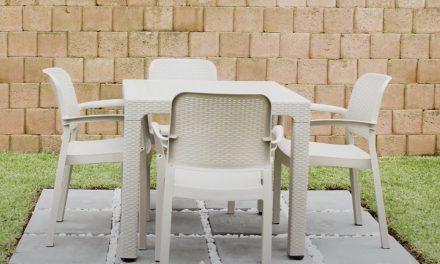 A Modern Design Of Plastic Furniture