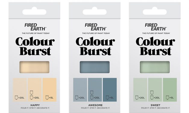 Introducing Colour Burst from Fired Earth