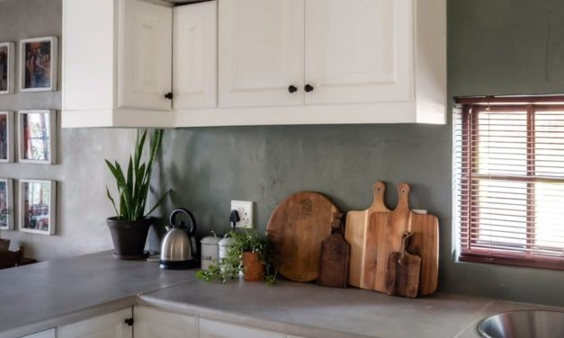 Fired Earth: Blendd Cement Kitchen Makeover